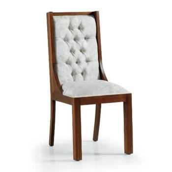 Chaise Capitonnée Tali Mindy - meuble bois exotique