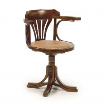 Fauteuil De Bureau Pivotant Tali Mindy - meuble bois exotique