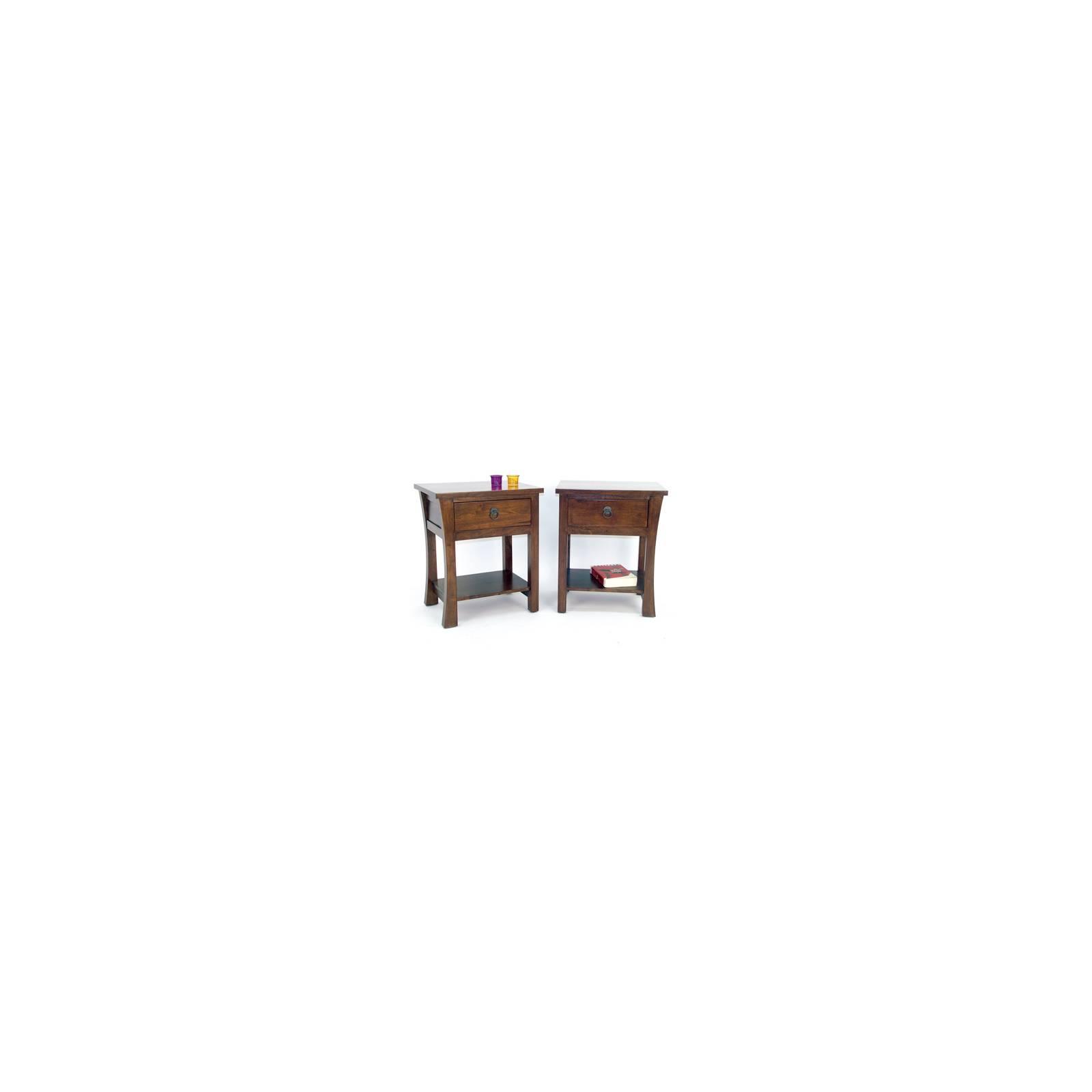 Chevet Chine Hévéa - meuble bois exotique