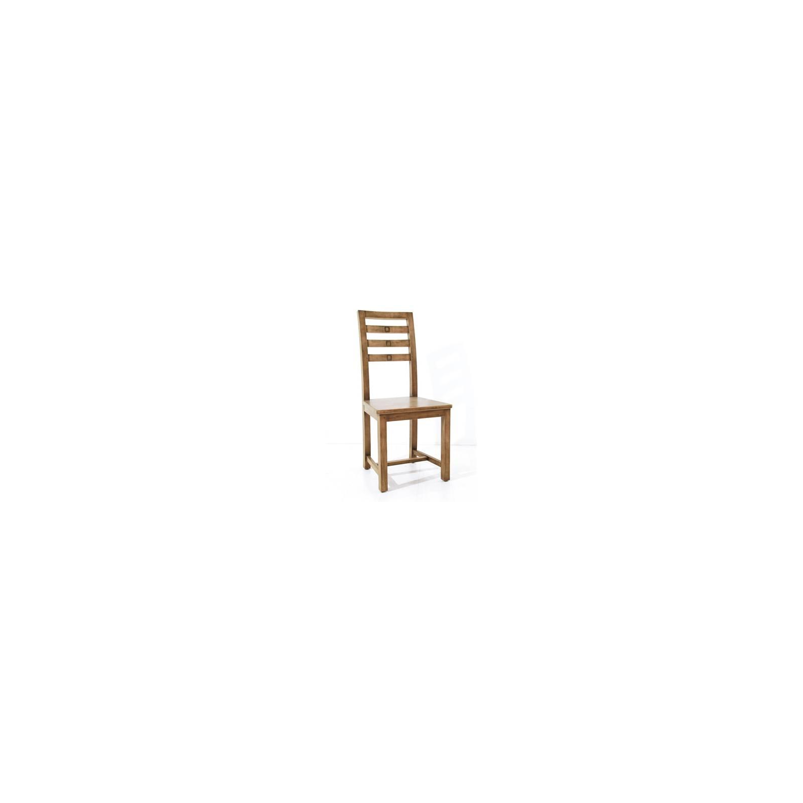 Chaise Tanoa Hévéa - mobilier bois massif
