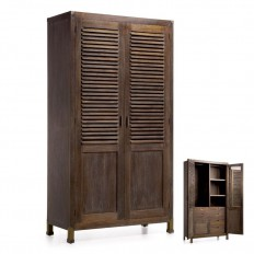 Armoire Penderie Industrial Mindy Massif