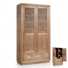 Armoire Penderie Bilbao Mindy Massif