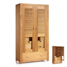 armoire cancun pour la chambre d coration d 39 int rieur exotique. Black Bedroom Furniture Sets. Home Design Ideas