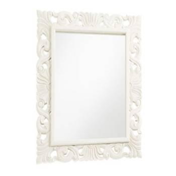 Miroir ornementé Sydney Acajou