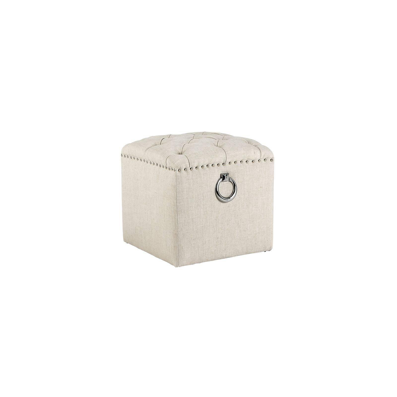 Repose-pieds Brooke Tissu - Achat meubles haut de gamme
