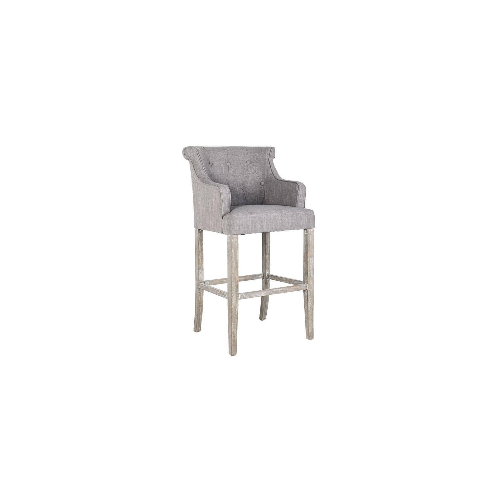Tabouret de bar Diego Tissu - Achat meubles style classique