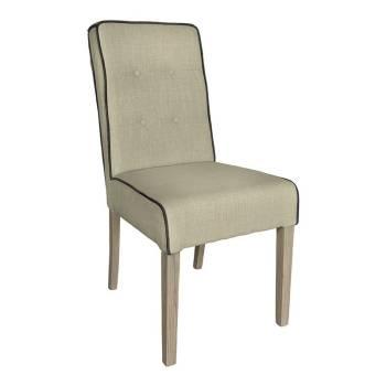 Chaise Luca Tissu - Achat de meubles