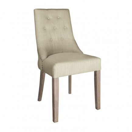 Chaise Sandy Tissu - Chaise style classique