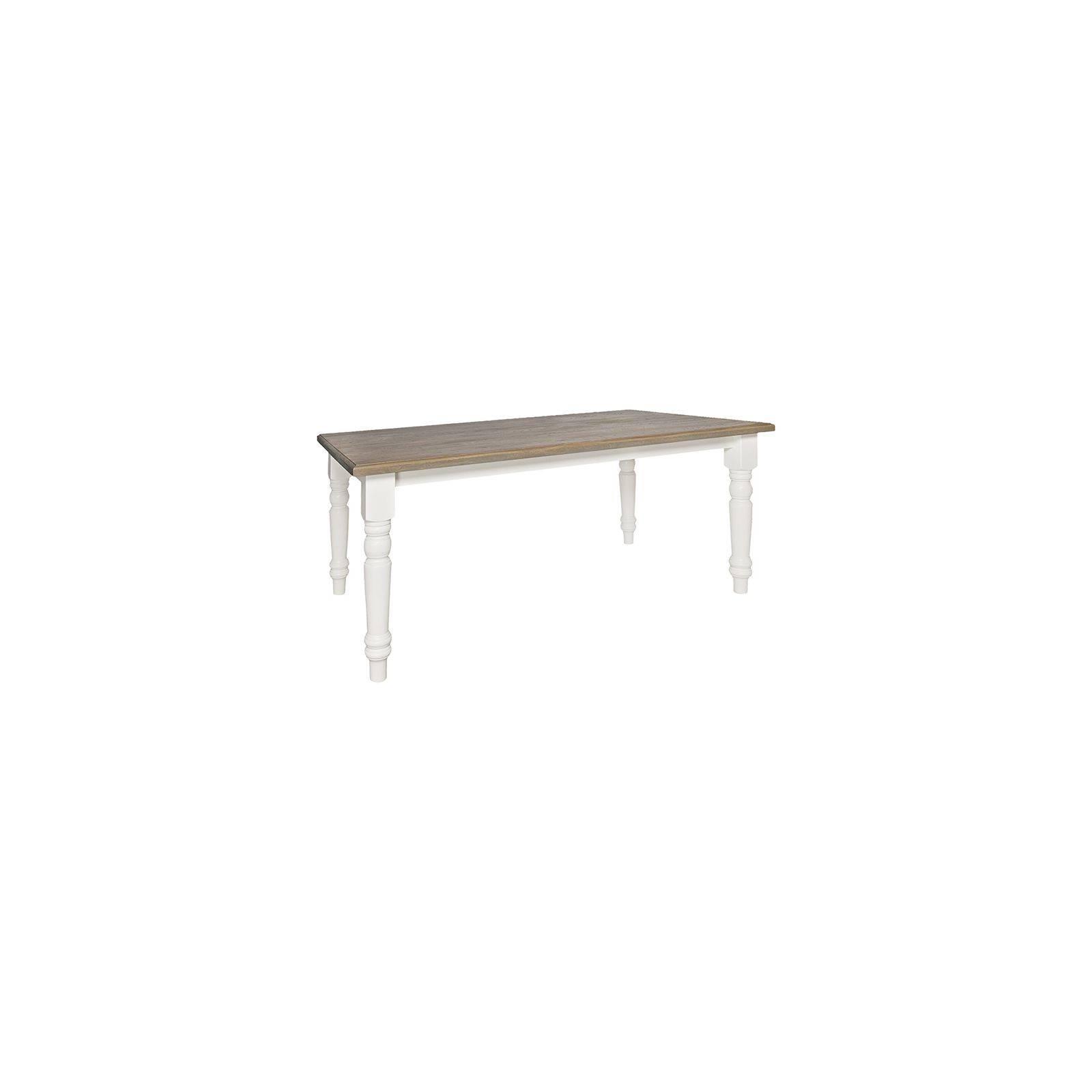 Table de salle Round Victoria Pin - Meuble bois massif