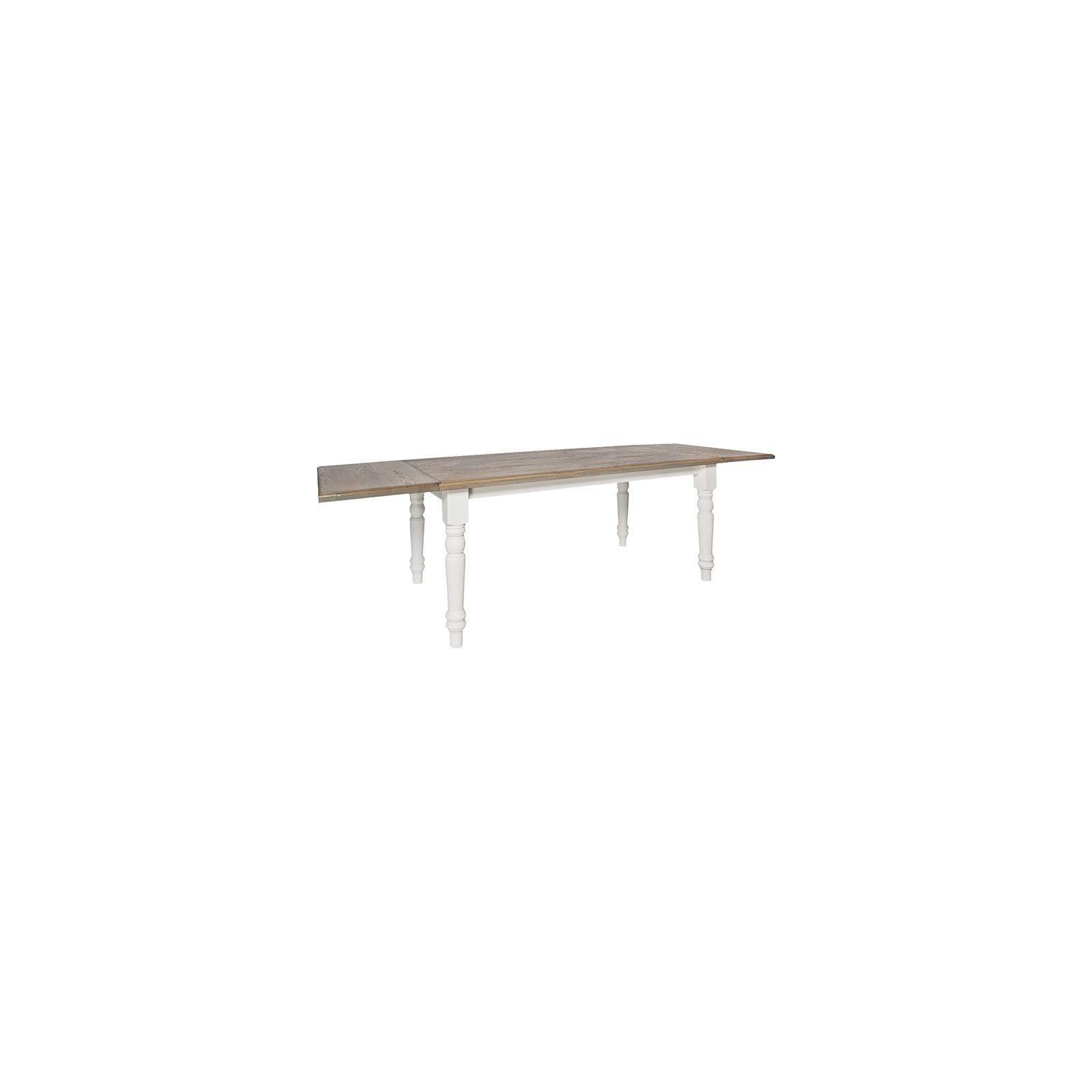 Table de salle rallonge Round Victoria Pin Massif - Table de repas bois massif
