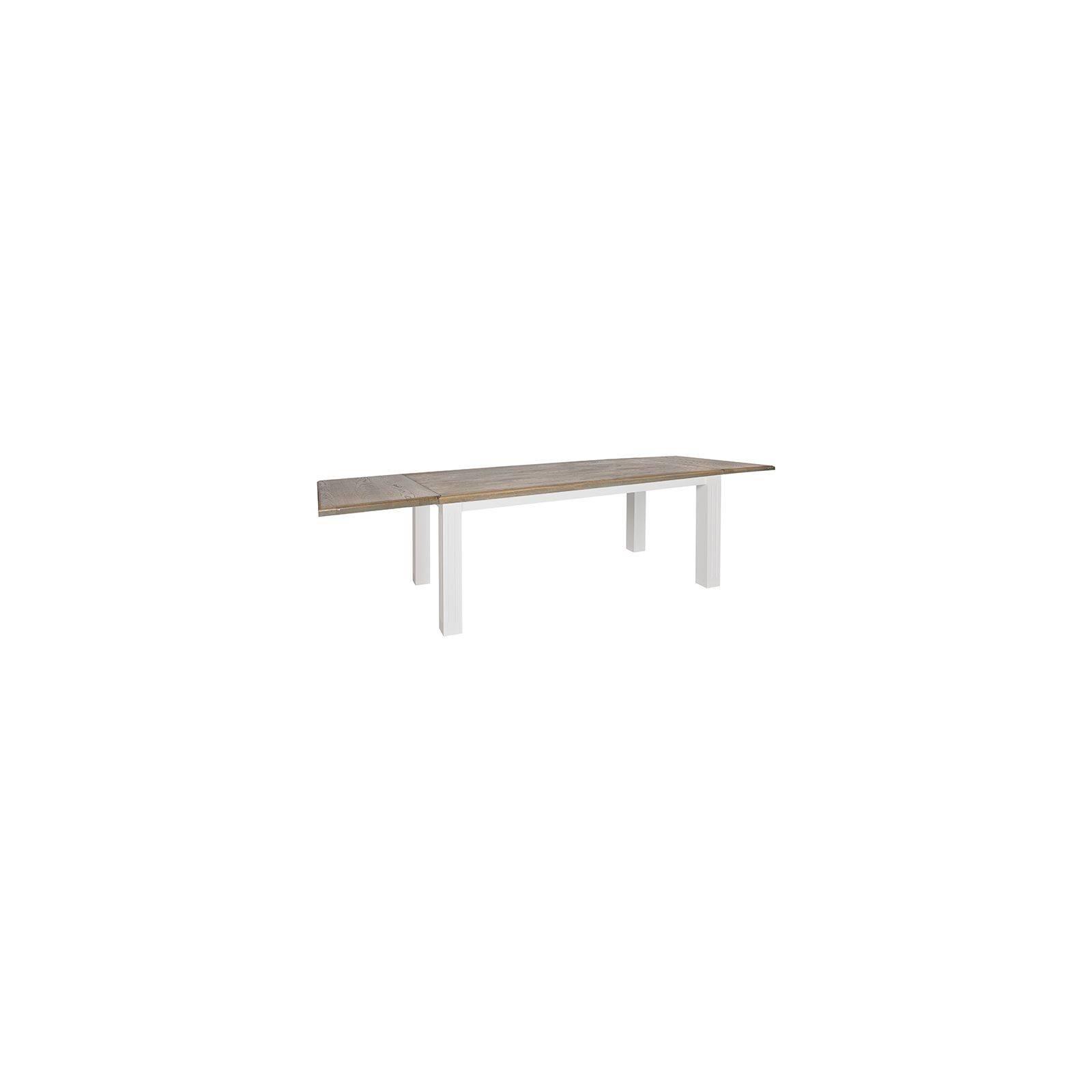Table de salle rallonge Square Victoria Pin Massif - Meuble bois massif déco