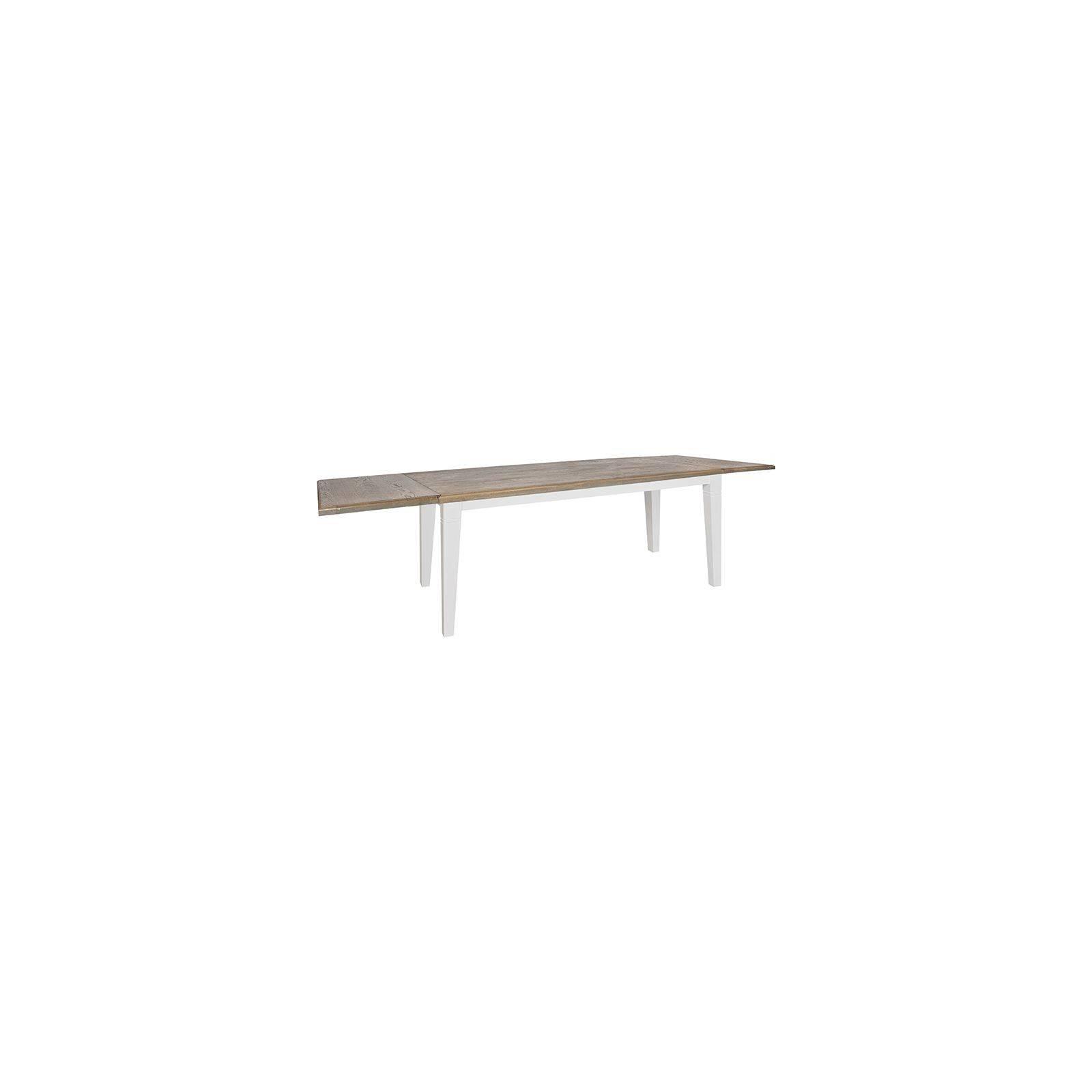 Table de salle rallonge Victoria Pin Massif - Style classique meubles
