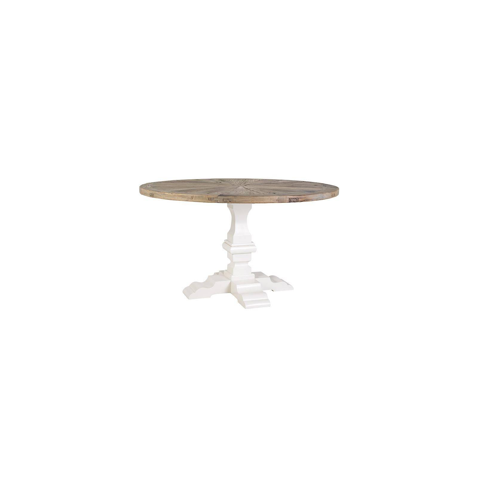 Table de salle ronde Victoria Pin Massif - Meuble bois massif