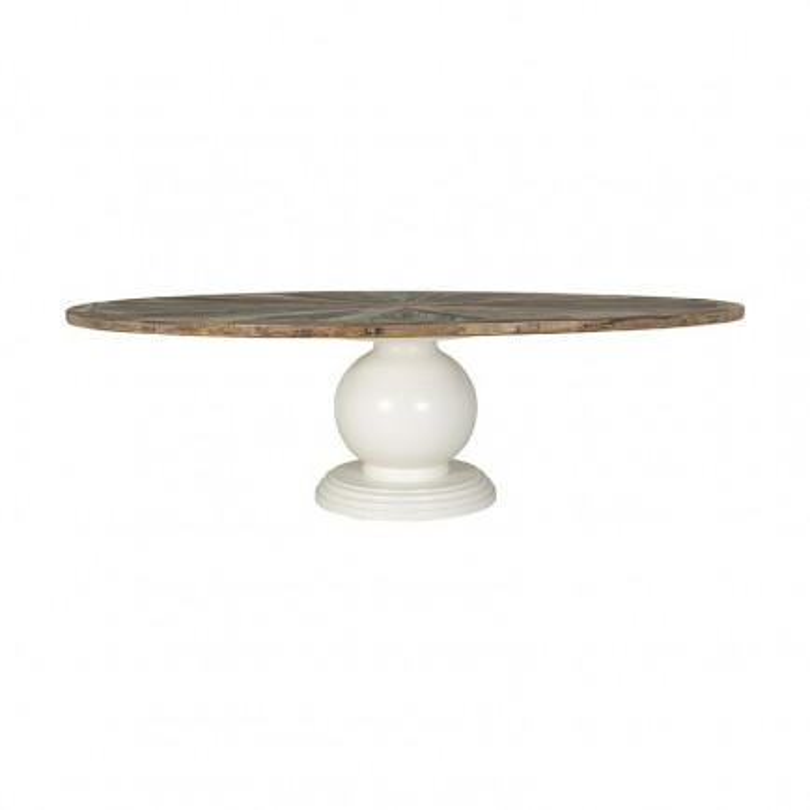 Table ovale Victoria Pin Massif - Meuble bois massif