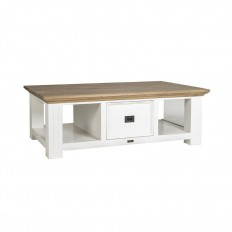 Table basse rectangulaire Oakdale Victoria Pin
