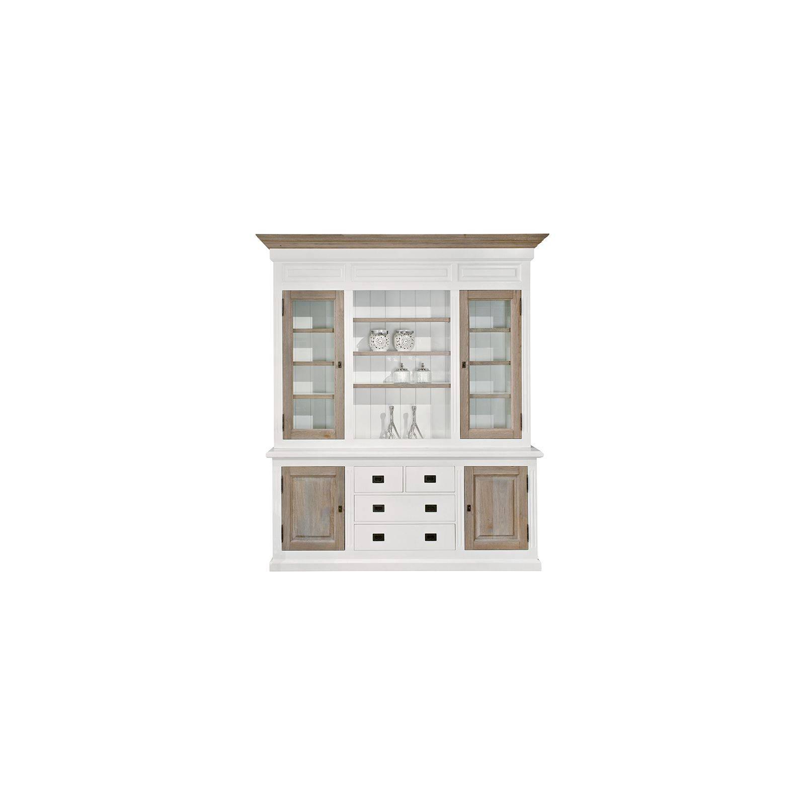 buffet vaisselier en pin et ch ne mobilier victoria. Black Bedroom Furniture Sets. Home Design Ideas