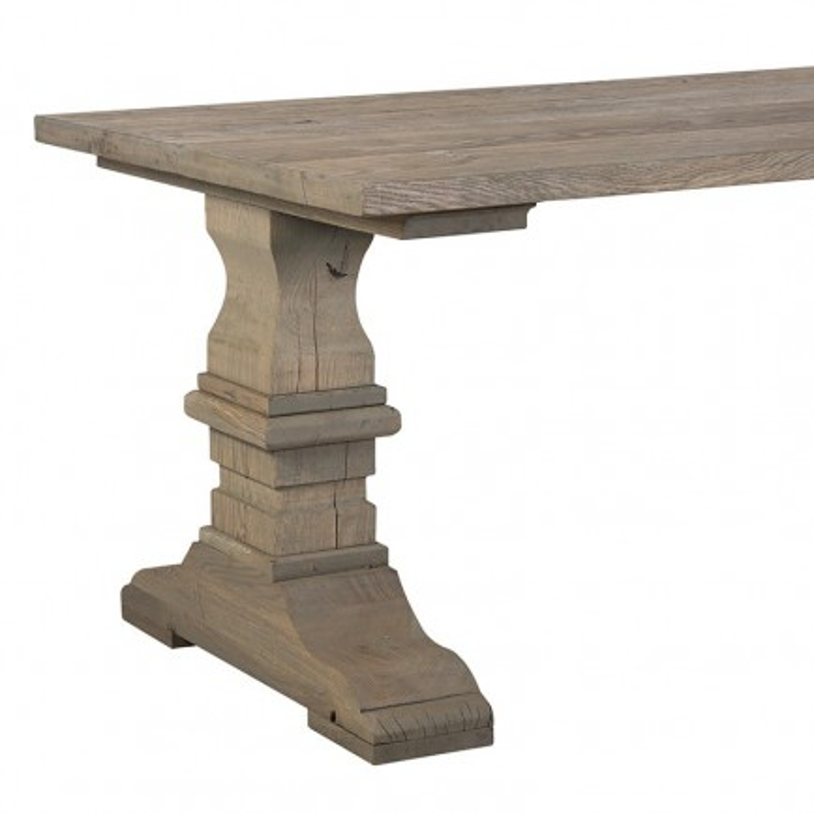 Table de salle Castle Victoria Chêne - achat table style campagne