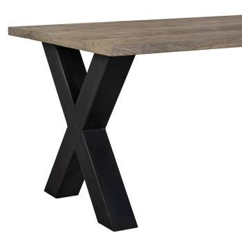Table de salle Industriel Victoria Chêne