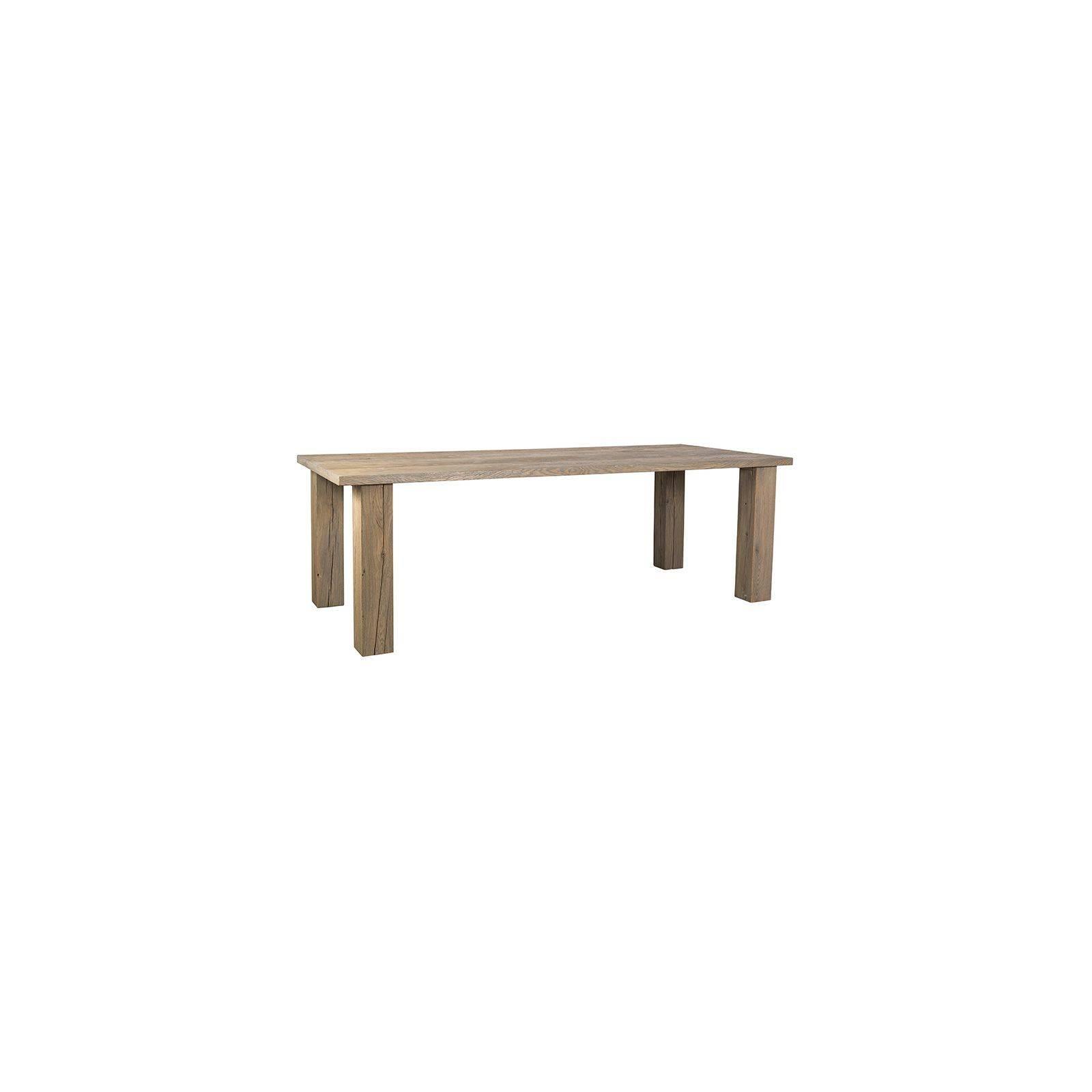 Table de salle Cube Victoria Chêne Massif - achat table de salle