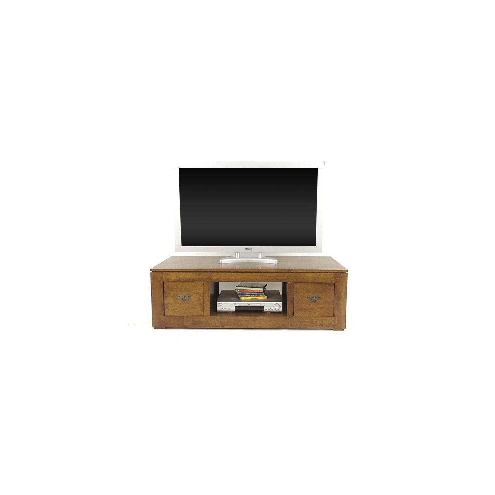Meuble Tv Hifi Omega Hévéa - meuble style design