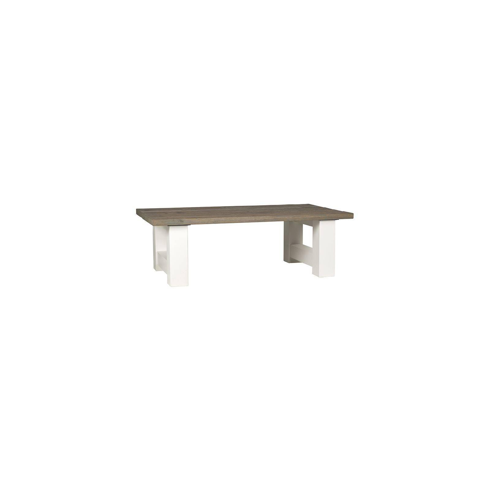Table basse rectangulaire Castle Victoria Pin - salon style classique