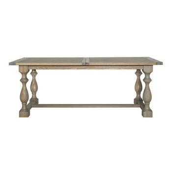Table de salle rallonge Versailles Victoria Chêne