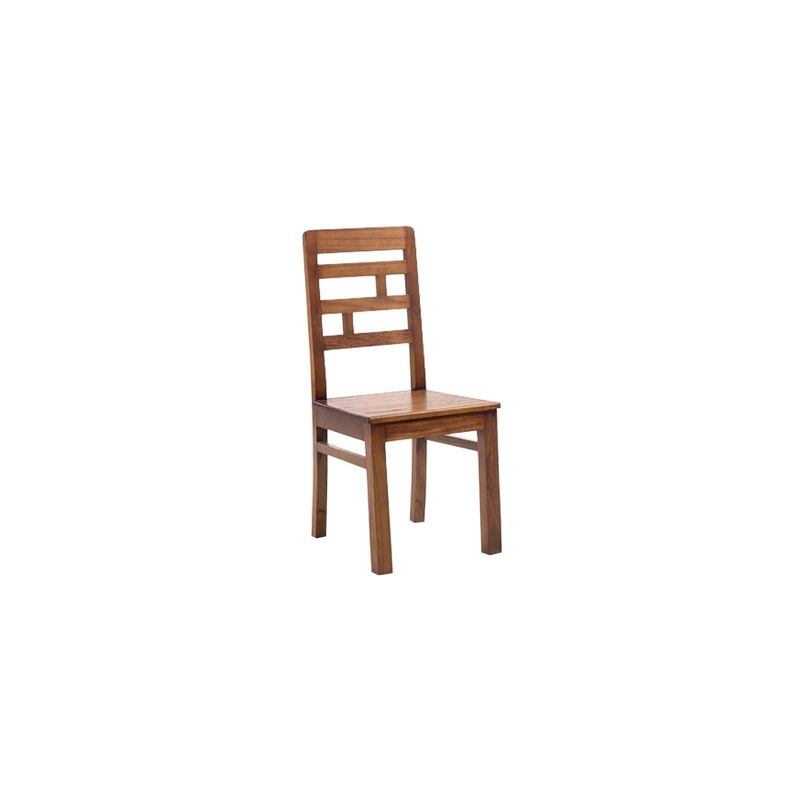 Chaise Rétro Mindi Massif - chaise en bois massif