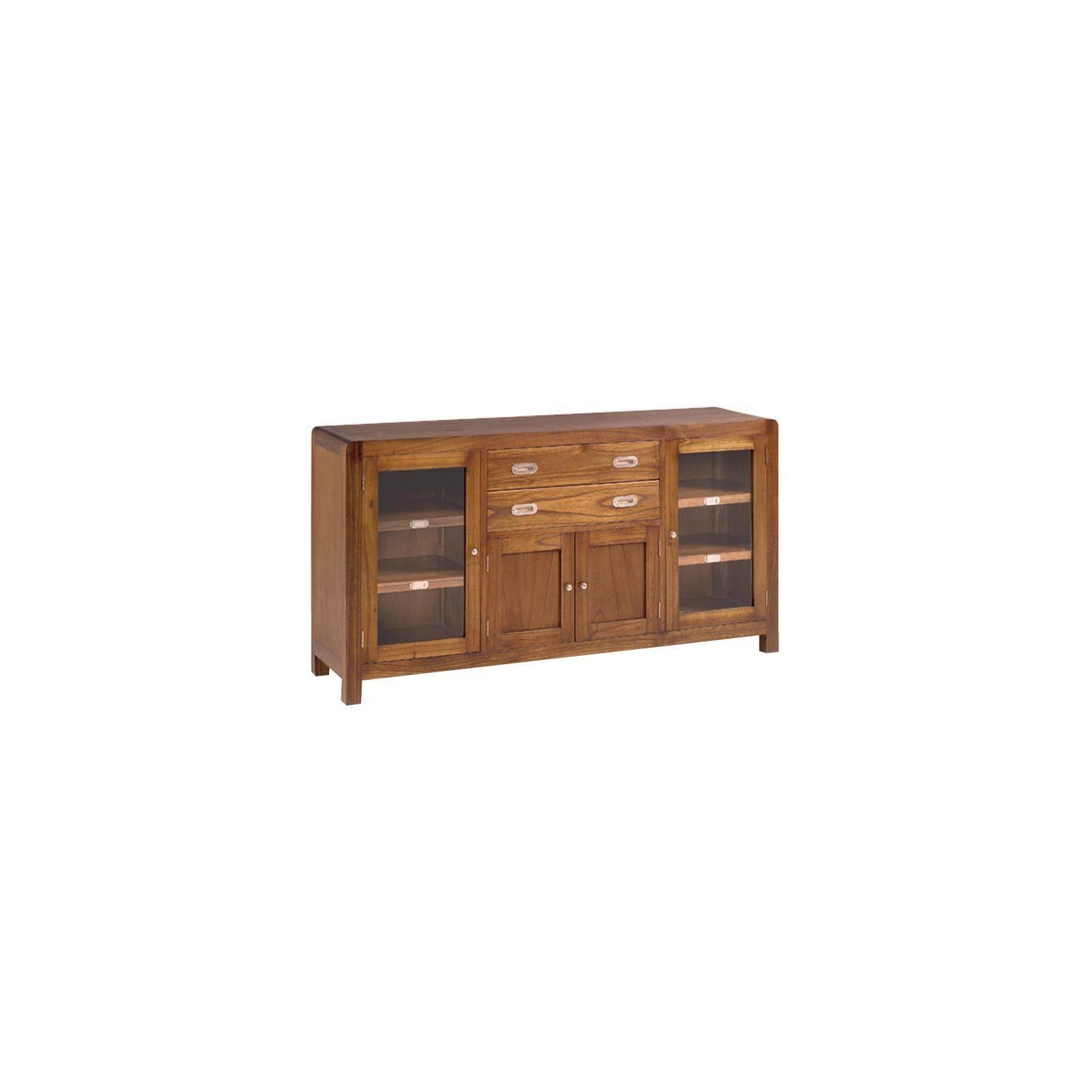 Buffet Rétro Mindi Massif - vente de meuble vintage