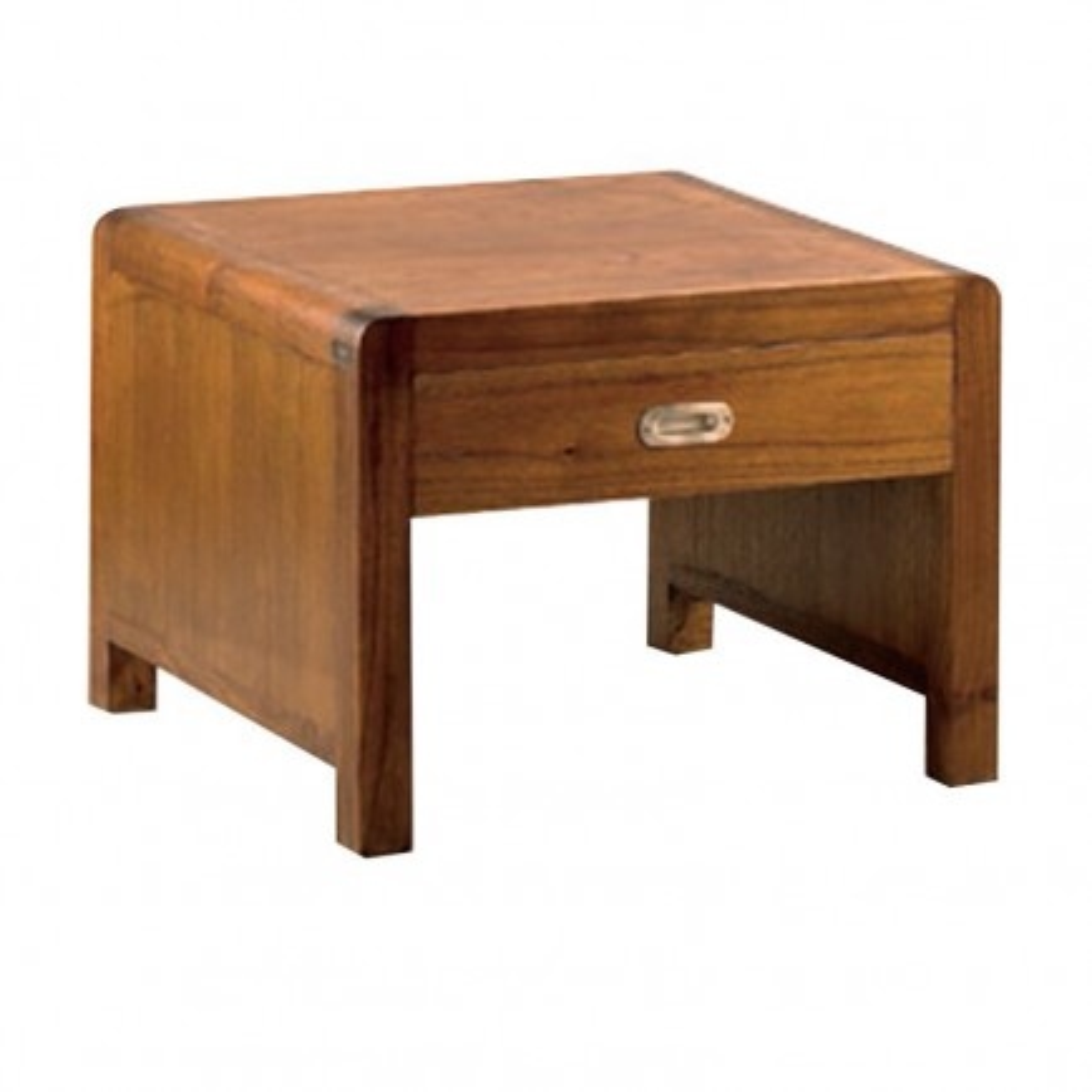 Bout de canapé Rétro Mindi Massif - meuble en bois exotique