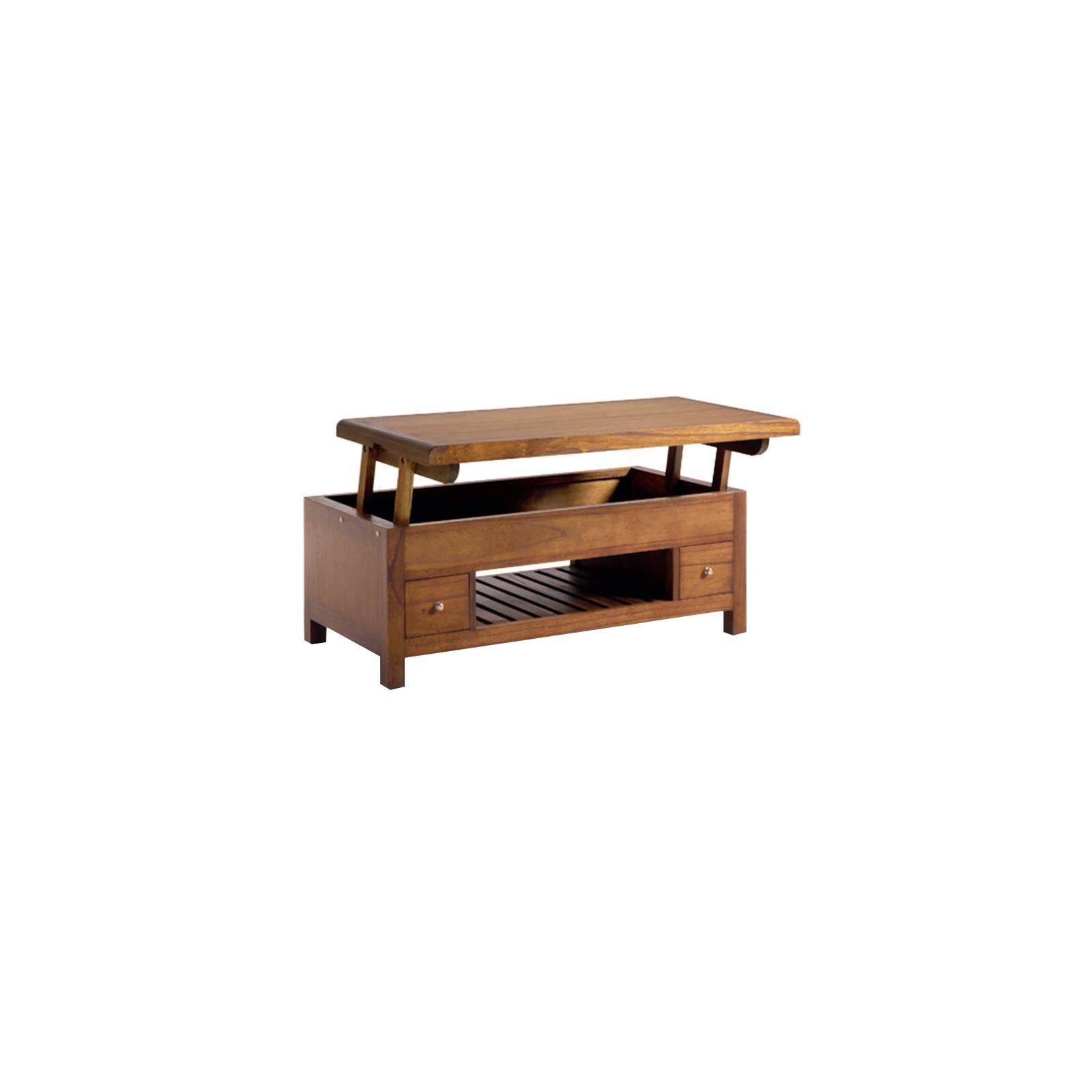 Meuble Tv Rétro Mindi Massif - table de salon