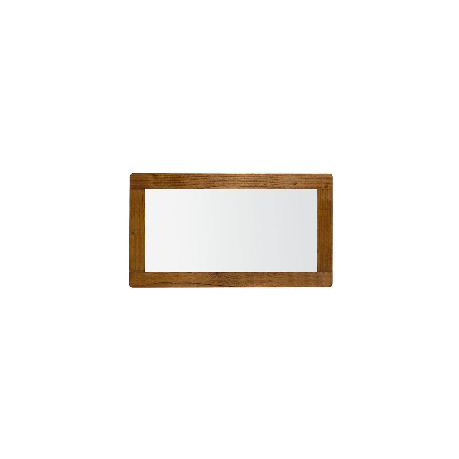 Miroir rectangulaire Rétro Mindi Massif - déco vintage