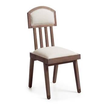 Chaise rembourrée Vintage Mindi Massif - achat de meuble rétro