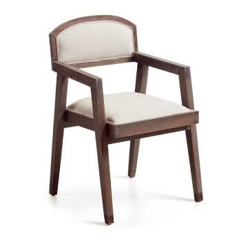 Chaise accoudoir Vintage Mindi Massif - vente de chaises
