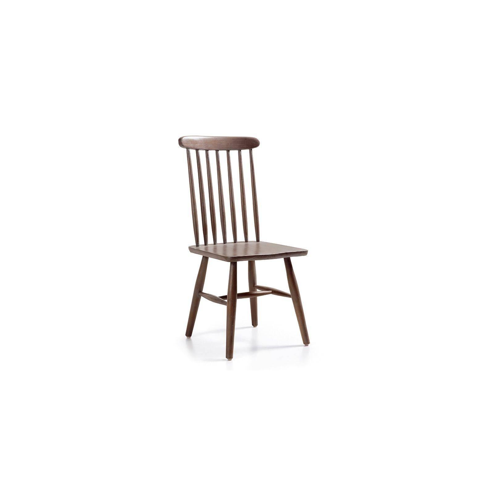 Chaise barreaux Vintage Mindi Massif - meuble style vintage