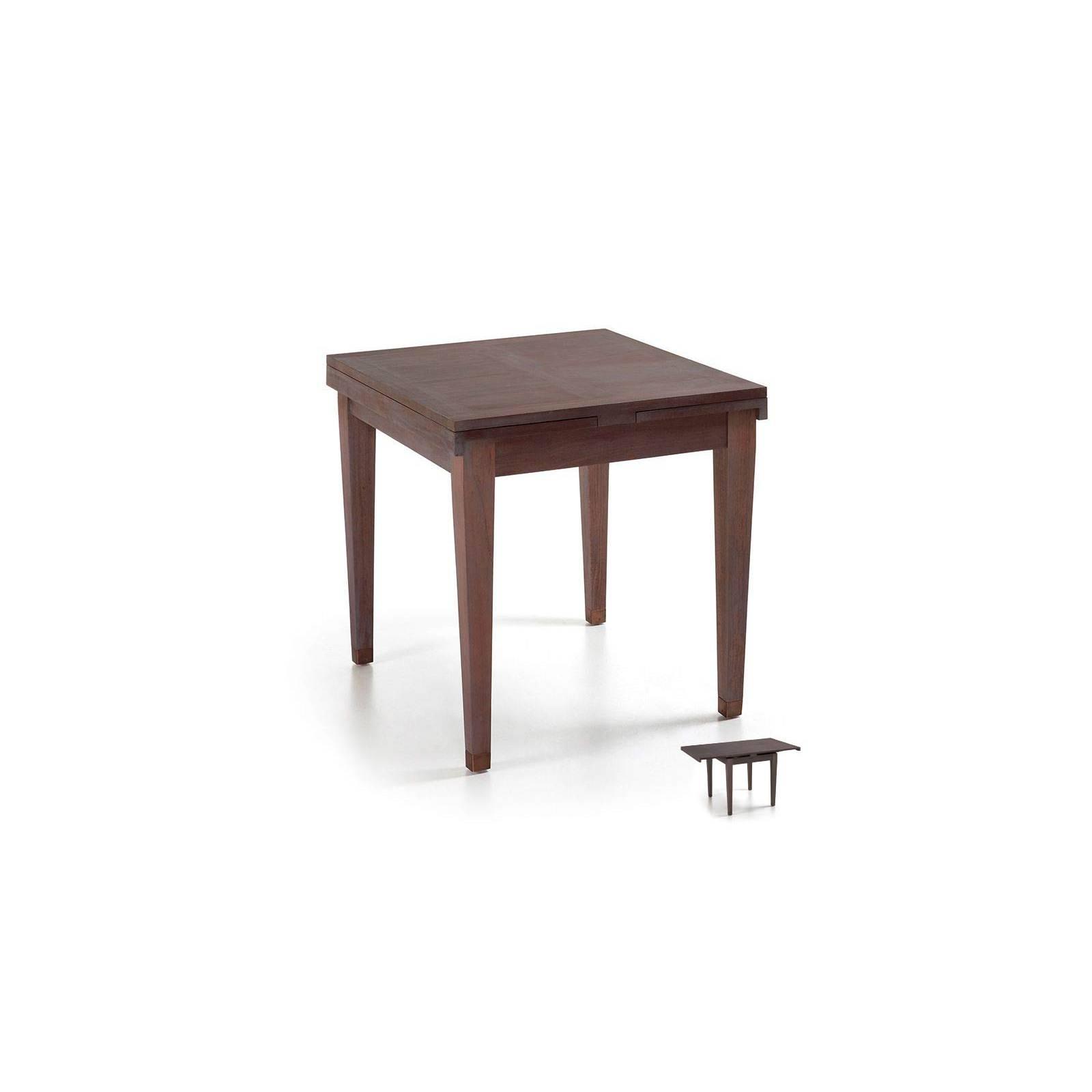 Table de salle à rallonge Mindi Vintage Massif - table rallonge