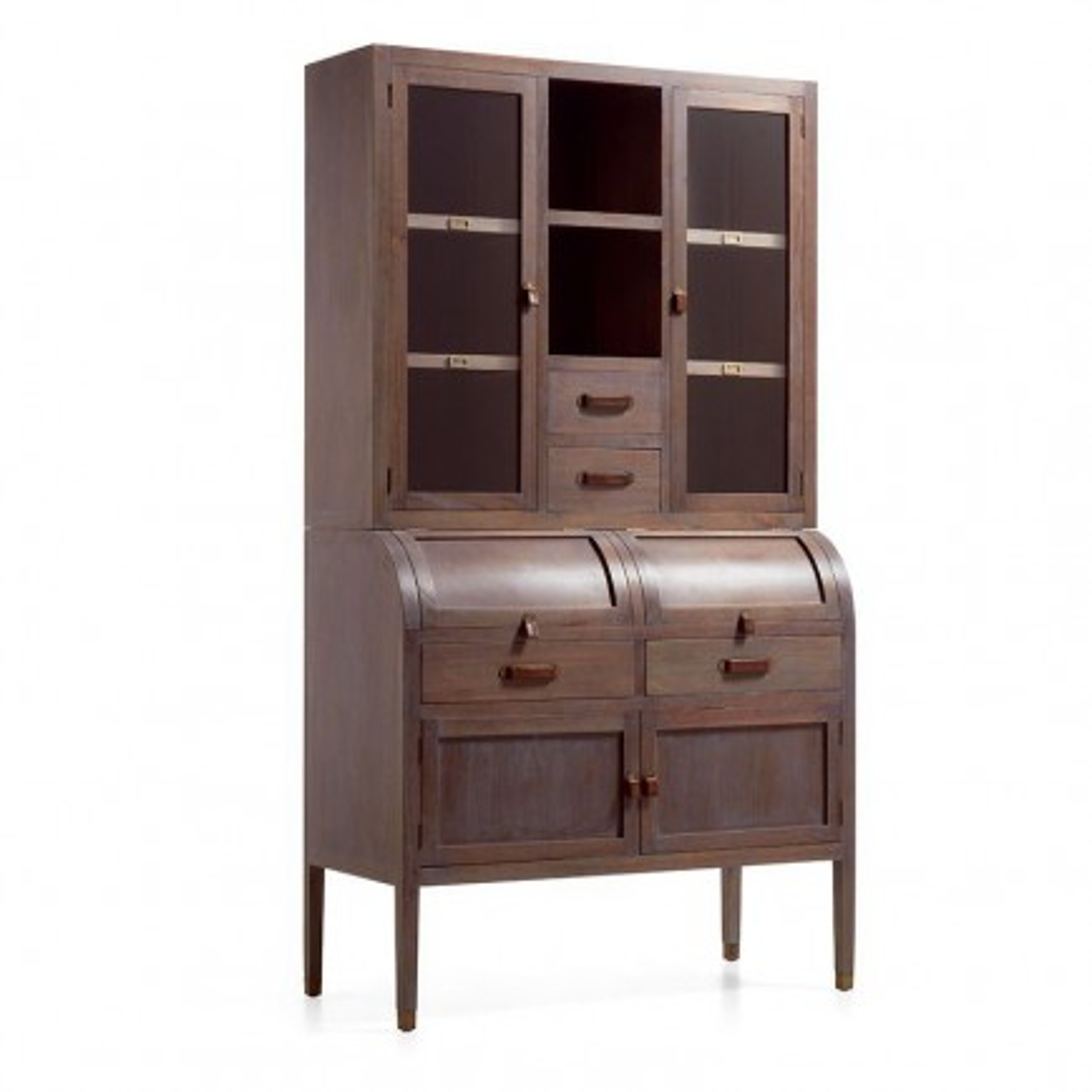 Buffet vaisselier Vintage Mindi Massif - meuble vintage