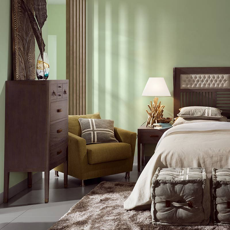 t te de lit vintage en mindi meuble chambre coucher. Black Bedroom Furniture Sets. Home Design Ideas