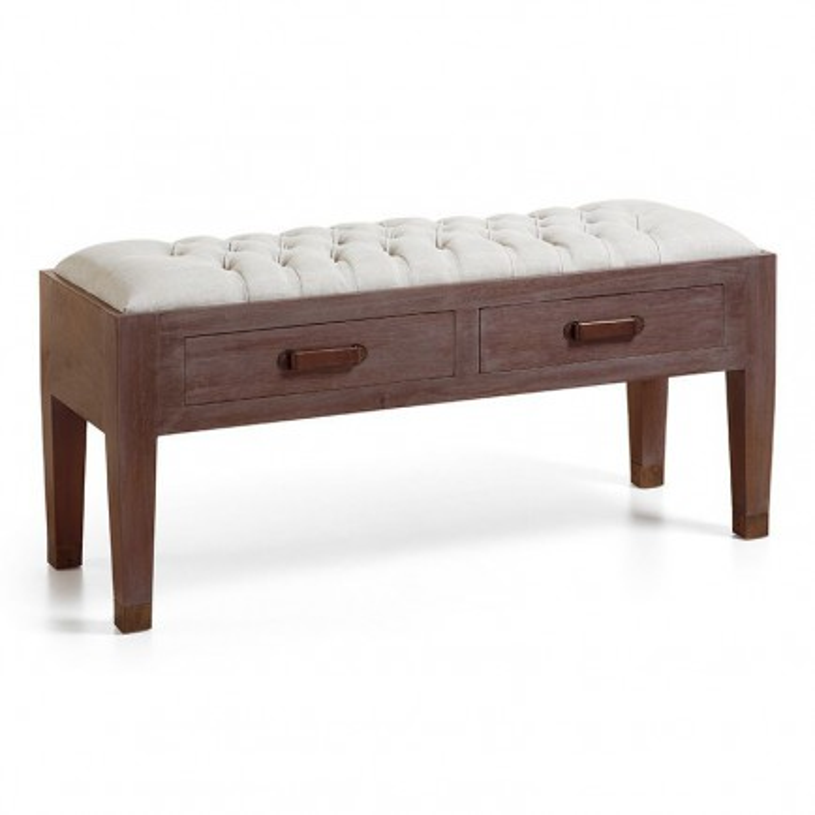 Banc Vintage Mindi Massif - meuble en bois massif