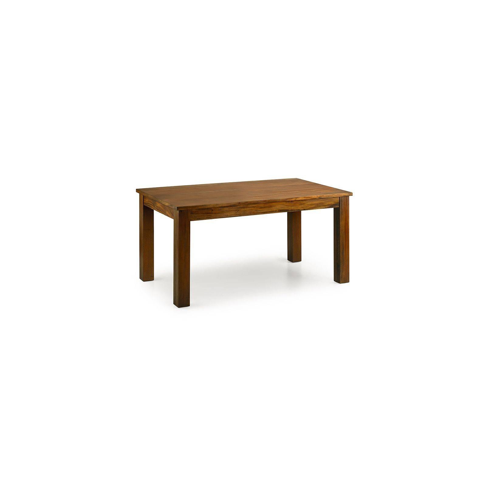 Table de salle à rallonge Colonial Acajou Massif - achat meubles en bois massif