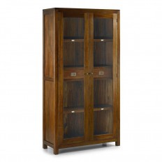 vitrine en bois exotique mobilier colonial en acajou massif. Black Bedroom Furniture Sets. Home Design Ideas