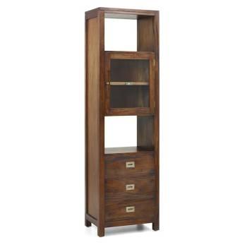 Colonne Colonial Acajou Massif - meuble bois exotique