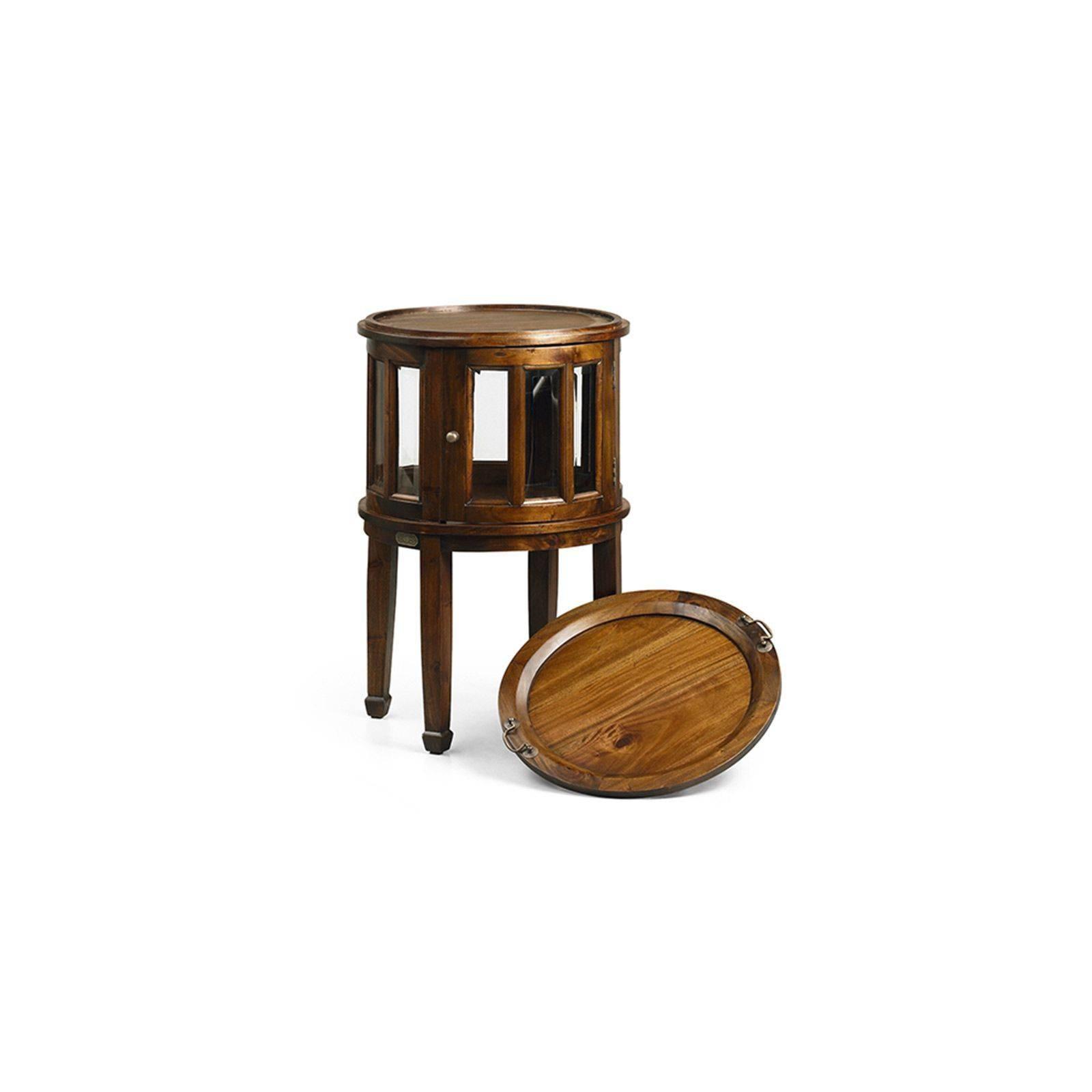 desserte colonial acajou massif meuble de salle manger