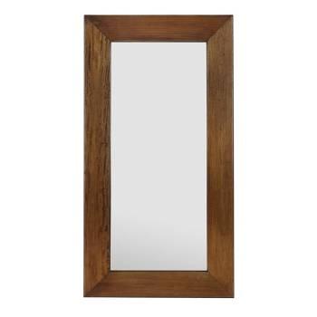 Miroir Rectangulaire Acajou Colonial