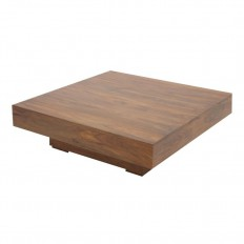 Table basse Carrée Design Palissandre Zen