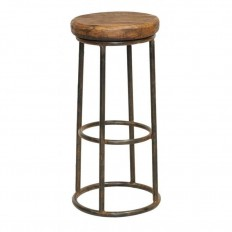 Tabouret de bar Manguier Fabric