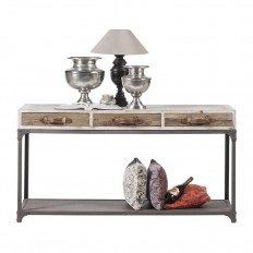 Console Flamand Pin Orme