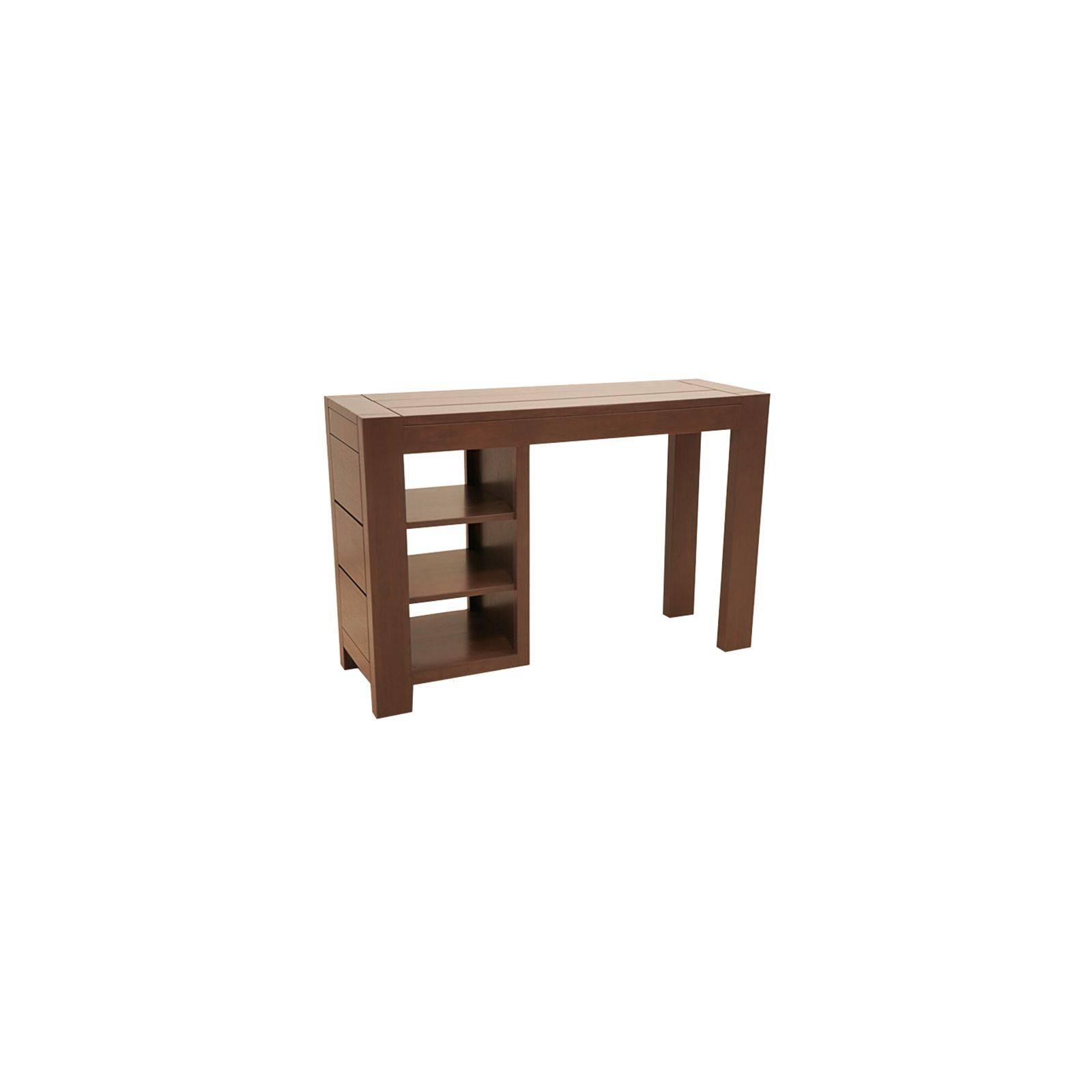 Bureau design en bois massif. Collection de meubles en hévéa Moka