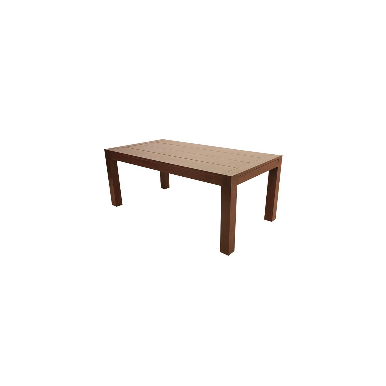 Table en hévéa design à rallonges Moka : inspiration contemporaine pour la maison