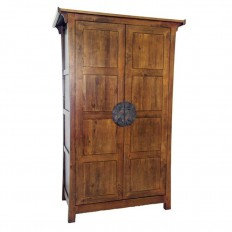 armoire en mindi massif beaubois penderie en bois exotique. Black Bedroom Furniture Sets. Home Design Ideas