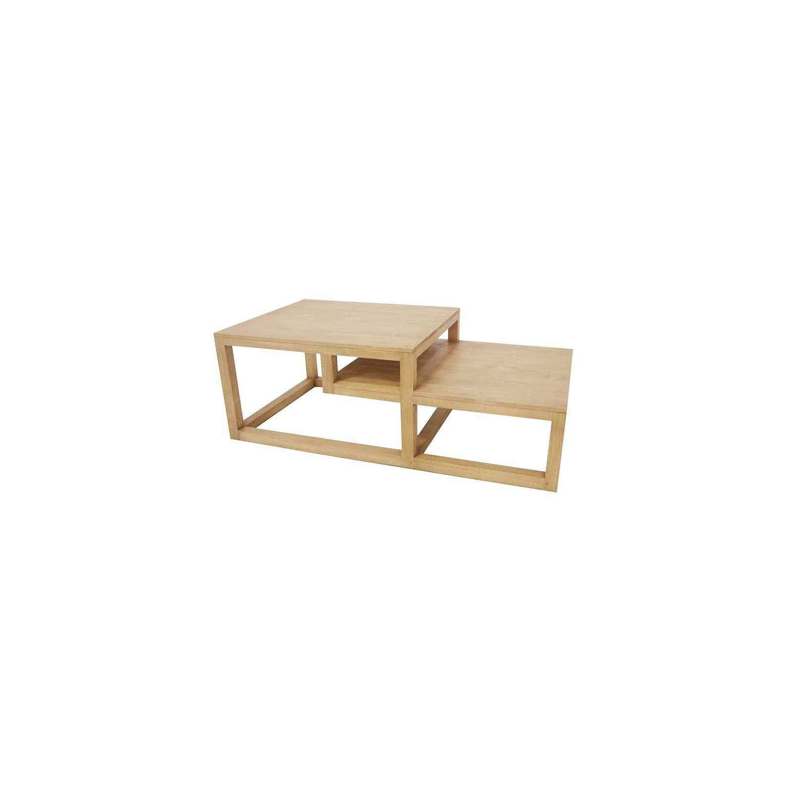 Table basse double Omega : déco originale pour le salon